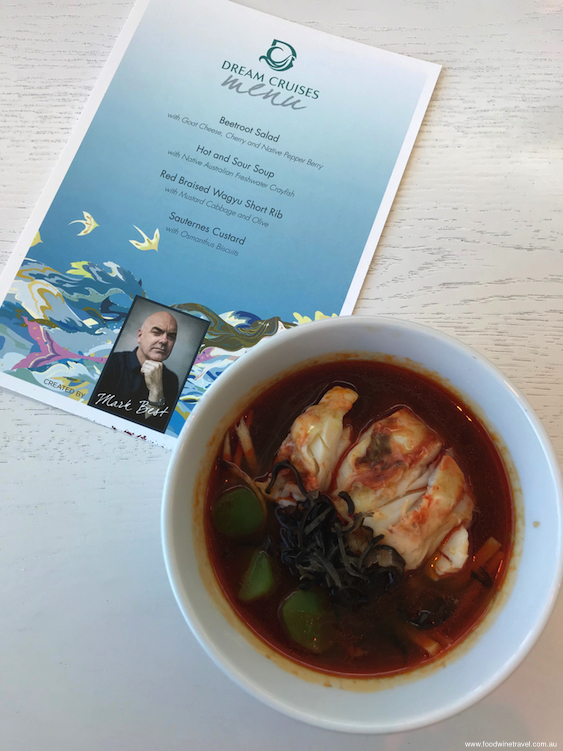 Hot and Sour Soup with Native Australian Freshwater Crayfish