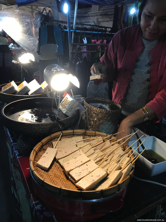Some of the amazing street food in Sunday Walking Street.