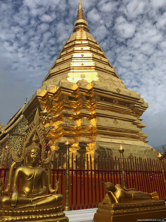 Wat Phra That Doi Suthep, one of Chiang Mai's most revered temples.