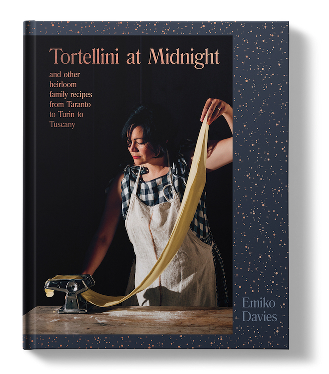 Tortellini At Midnight is the third book from Emiko Davies, a former Canberran now living in Tuscany.
