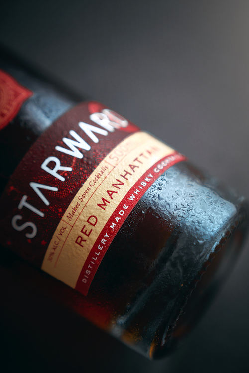 Red Manhattan is the second release in Starward's bottled cocktail series.