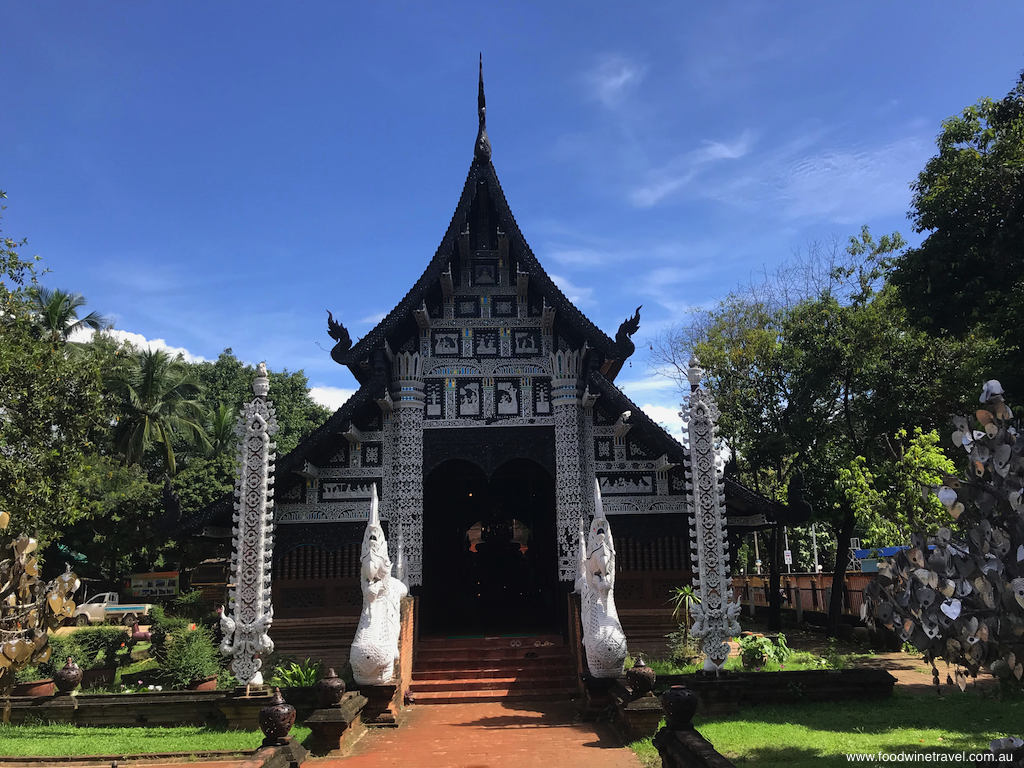 The 14th century Wat Lok Molee, one of Chiang Mai's oldest temples.