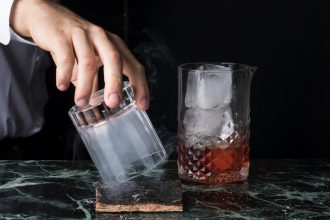 Foresters' extensive cocktail list includes Bushfire Negroni, made with paperbark smoke and Mt Uncle Bushfire smoked gin.