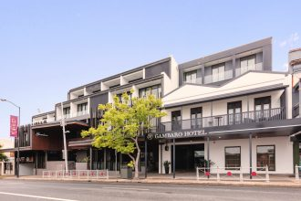 Gambaro Hotel Exterior Supplied