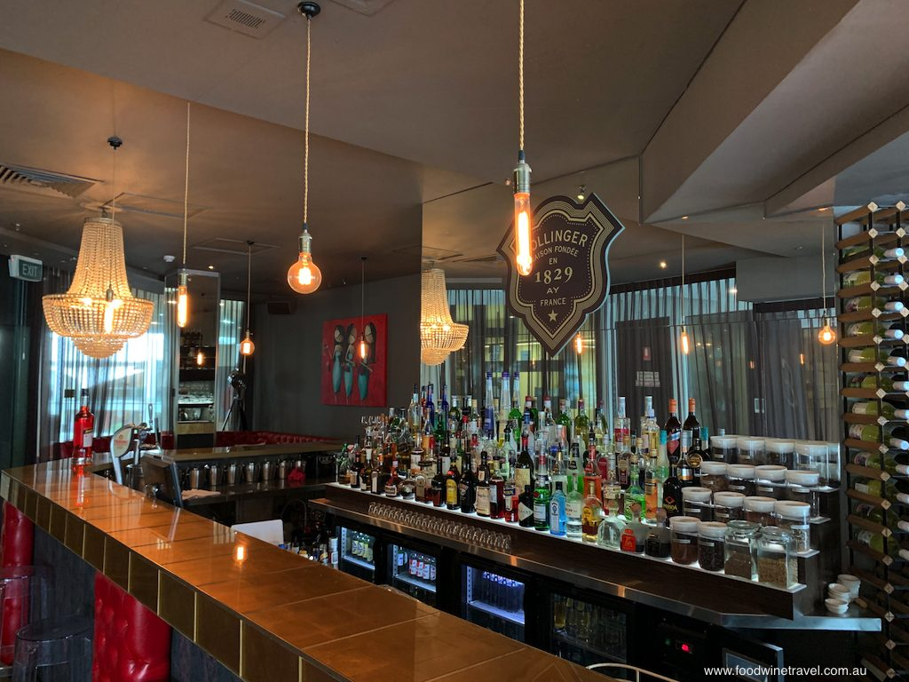 Glass Dining and Lounge Bar has an elegant yet relaxed ambience.