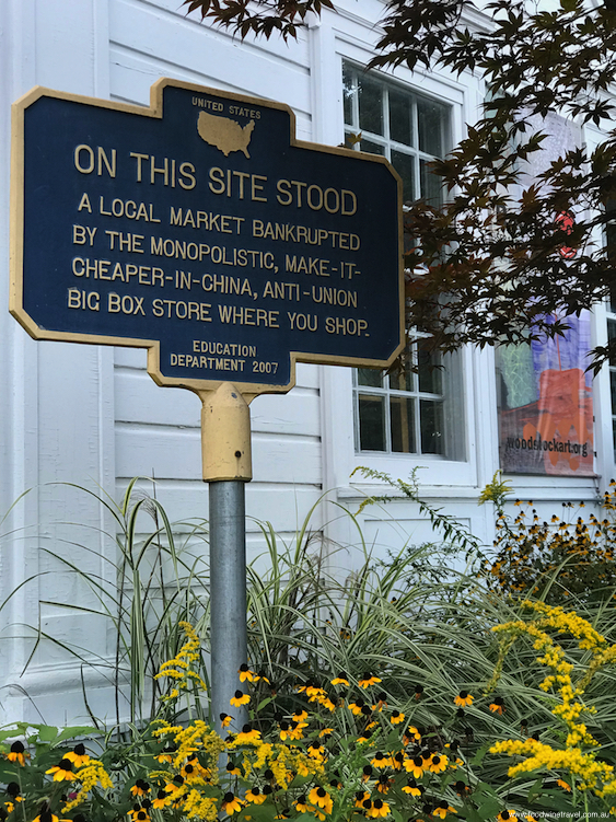Woodstock, the town in New York that didn't host the 1969 Woodstock Festival