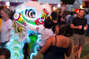 Brisbane Night Noodle Markets Lion