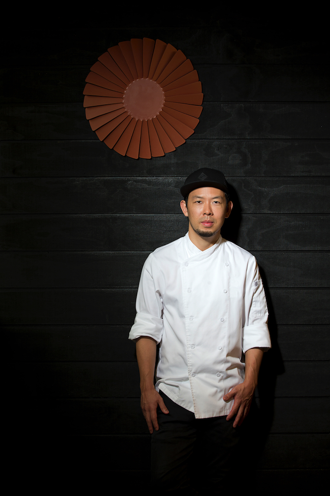 Chase Kojima, the immensely talented chef behind Sokyo in Sydney and Kiyomi at the Gold Coast.