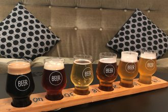 The Beer Spot in Auckland, New Zealand, is a great place to try lots of different beers.