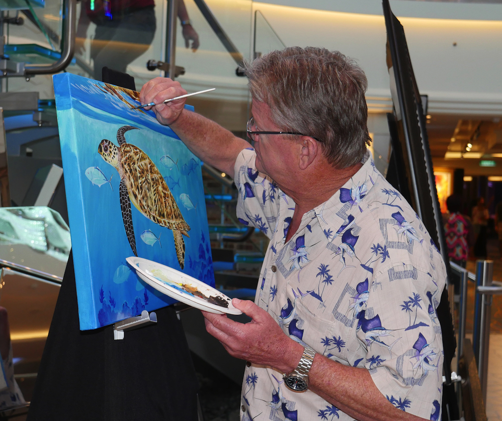 Guy Harvey went from being a marine biologist to one of the world's foremost marine wildlife artists.