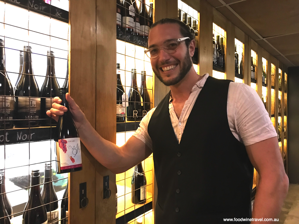 Sommelier Freddy Dordoni runs Grape Therapy with his winemaker wife Ashley Berini.