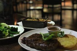 Lennons Restaurant wagyu steak