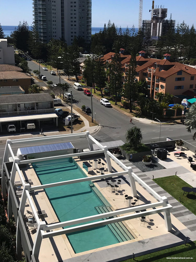 Avani Broadbeach view of pool