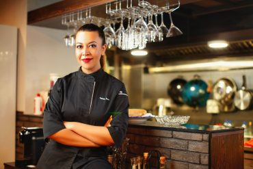 Macao chef Palmera Pena cooking in Sydney
