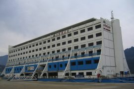 world's first floating hotel North Korea