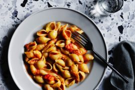 Italian: Big Flavours, Classic Dishes, published by Gourmet Traveller, pasta with vodka sauce recipe.