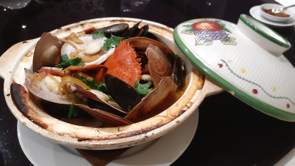 Seafood Cataplana Taste of Macao chef Palmera Pena cooking in Sydney