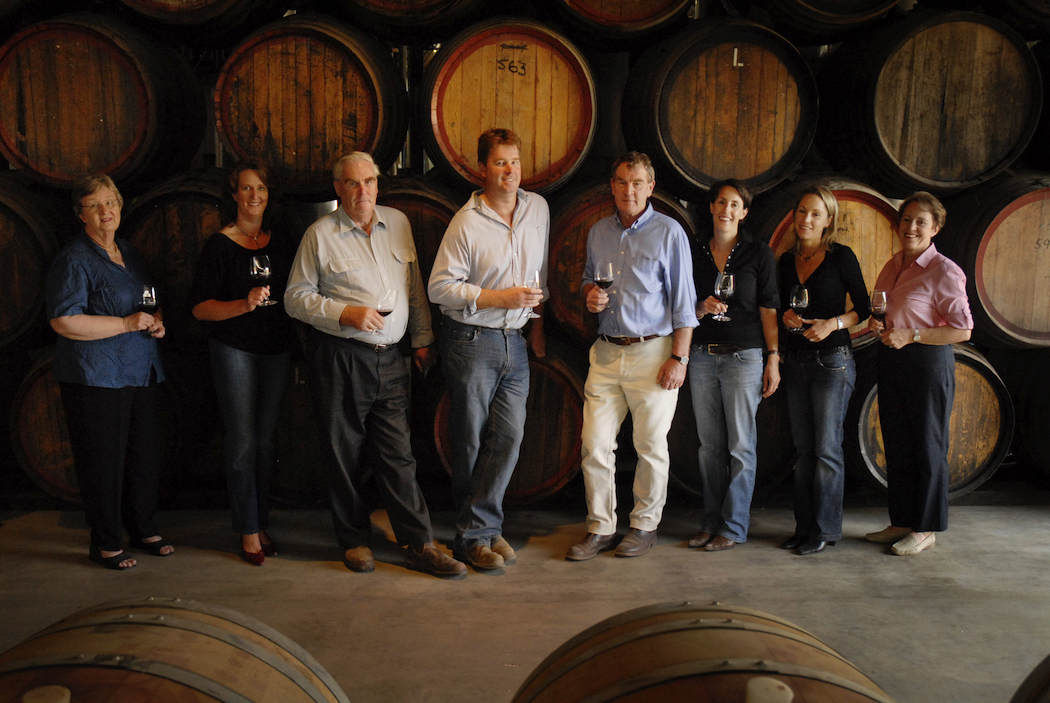 Rutherglen's Campbell family, custodians of a remarkable winemaking heritage.