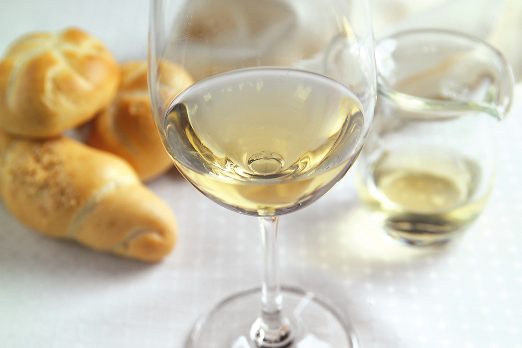 Austrian wines, especially the flagship Grüner Veltliner, are some of the world's most food-friendly wines. Photo © Austrian National Tourist Office.