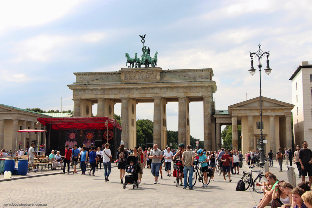 Berlin's Brandenburg Gate, a symbol not only of the city's tumultuous history but also of unity and peace.