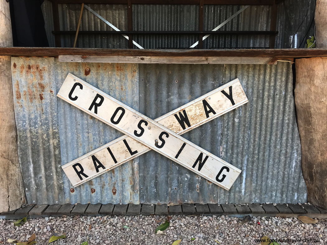 Mary Valley Rattler railway crossing sign