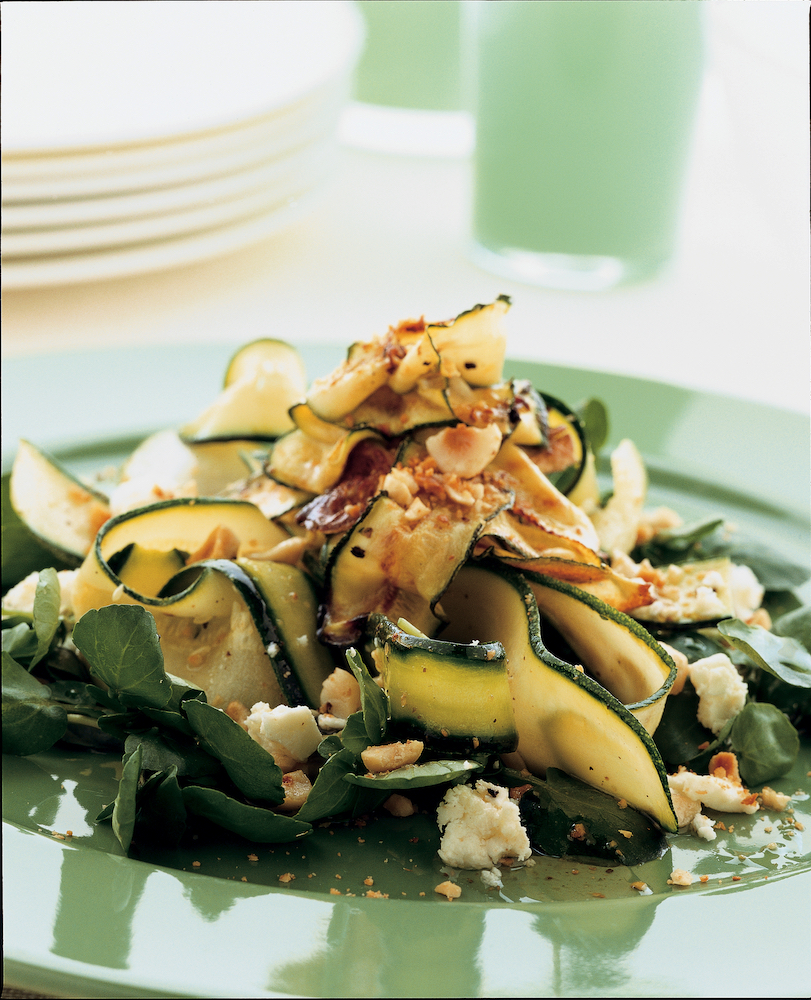 Zucchini Salad, from The Vegetarian Cooking Guide.