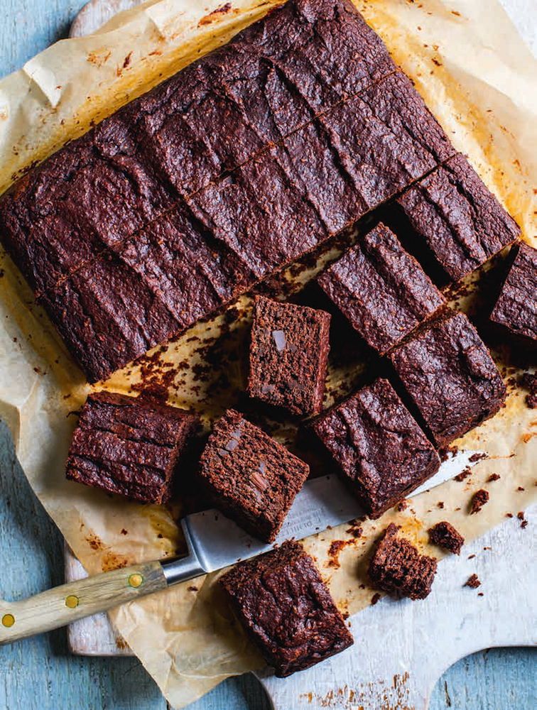 Recipe for Chocolate Beetroot Brownies, from The Fast 800 Recipe Book by Dr Claire Bailey.