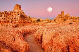 World Heritage Sites of Australia Willandra Lakes region