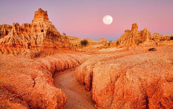 World Heritage Sites of Australia Willandra Lakes region