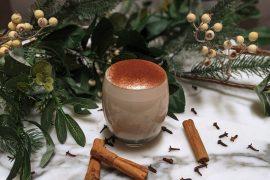 Recipe for traditional Christmas eggnog