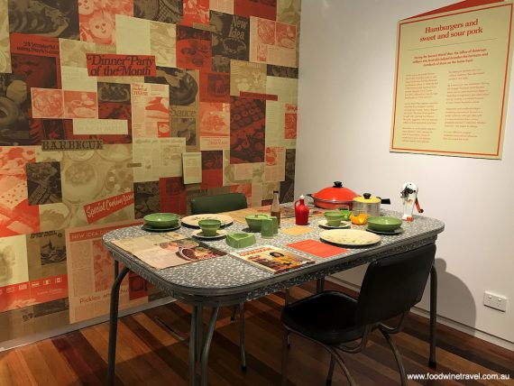 On The Menu exhibition, Pine Rivers Heritage Museum.