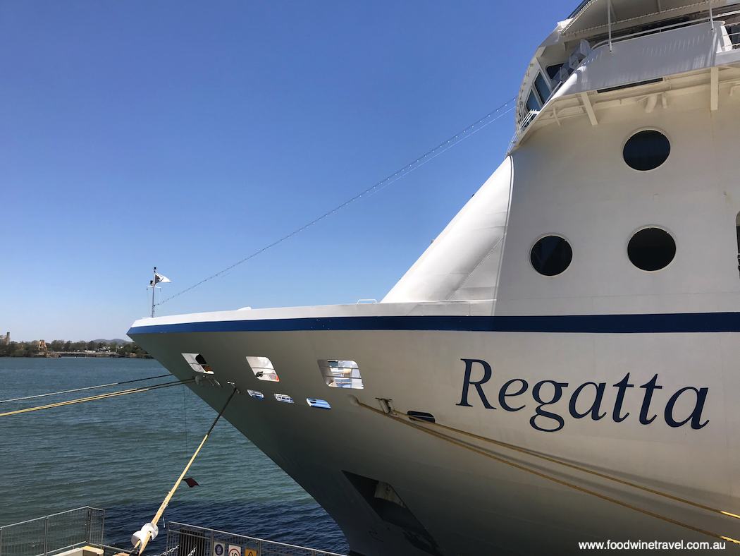Regatta is the third of the Oceania cruise ships to be given a makeover.