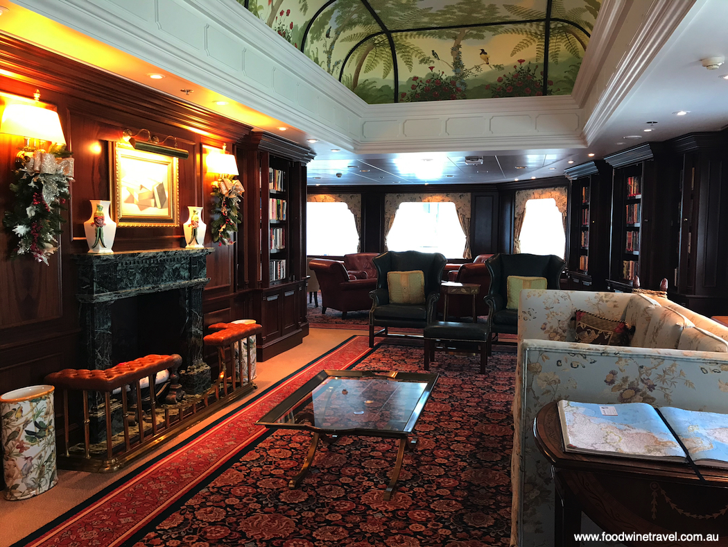 The much-loved Library on board Oceania Cruises' Regatta is the only space that has not been changed.