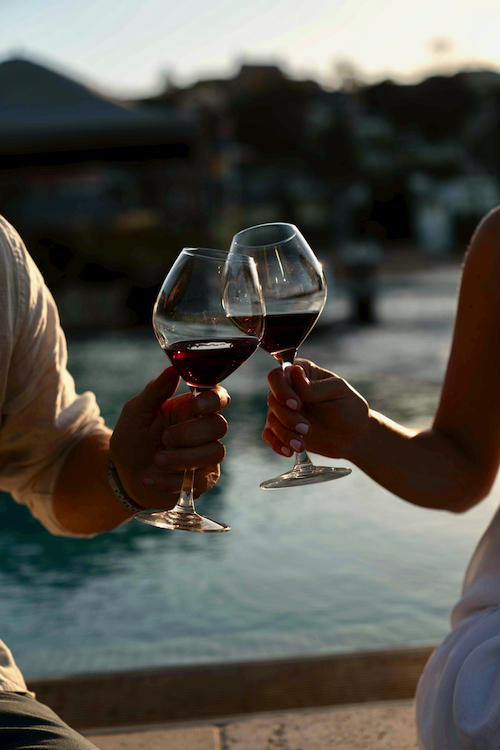 Cheers to summer drinking ... at the correct temperature. Photo supplied by Taylors Wines.