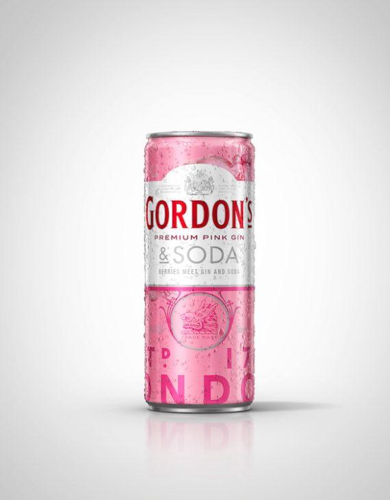 Gordon's Premium Pink Gin & Soda