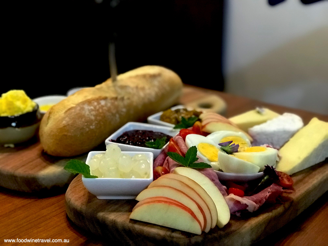 The ploughman's lunch in  Jersey Girls Café.