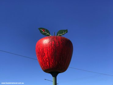 The Big Apple, at the northern entrance to Stanthorpe.