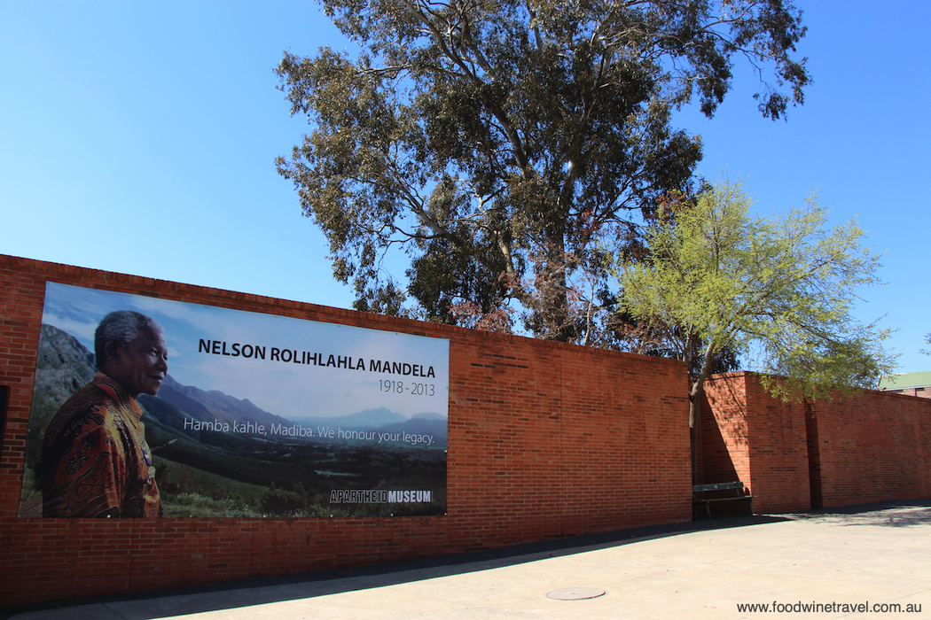 Apartheid Museum Johannesburg sites associated with Nelson Mandela
