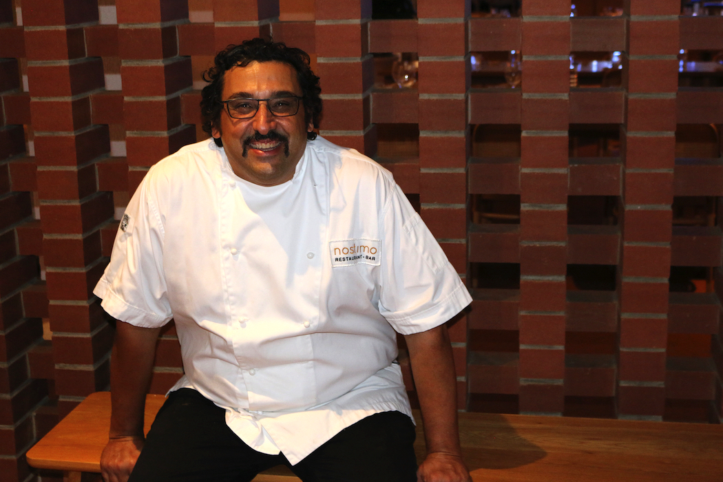 Chef in residence David Tsirekas has spent a lot of time studying Greek history and cuisine.