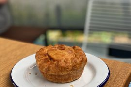 If you're looking for a good pie in Brisbane, pop into Pie Town.