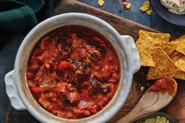 Chilli Beef Bowl, a must-try recipe from Ribs and Sides, by Adam Roberts.