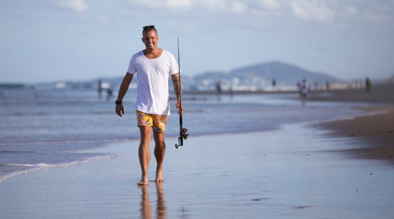 Matt Sinclair shows off the beautiful Sunshine Coast in his live-streamed class. Photo © Eyes Wide Open Images/Barry Alsop supplied by Tourism and Events Queensland.