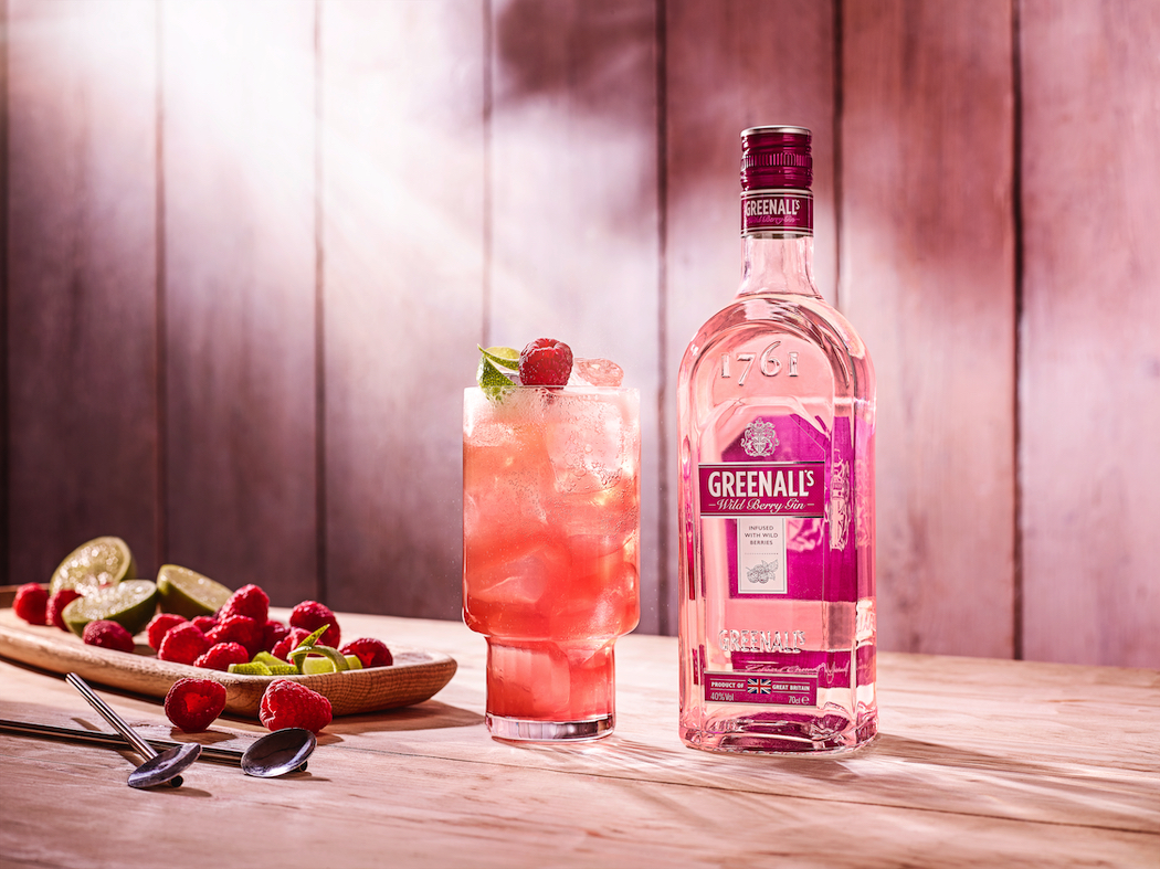 Greenall's Wild Berry Gin is the base for this gin-tastic Flora Dora cocktail.