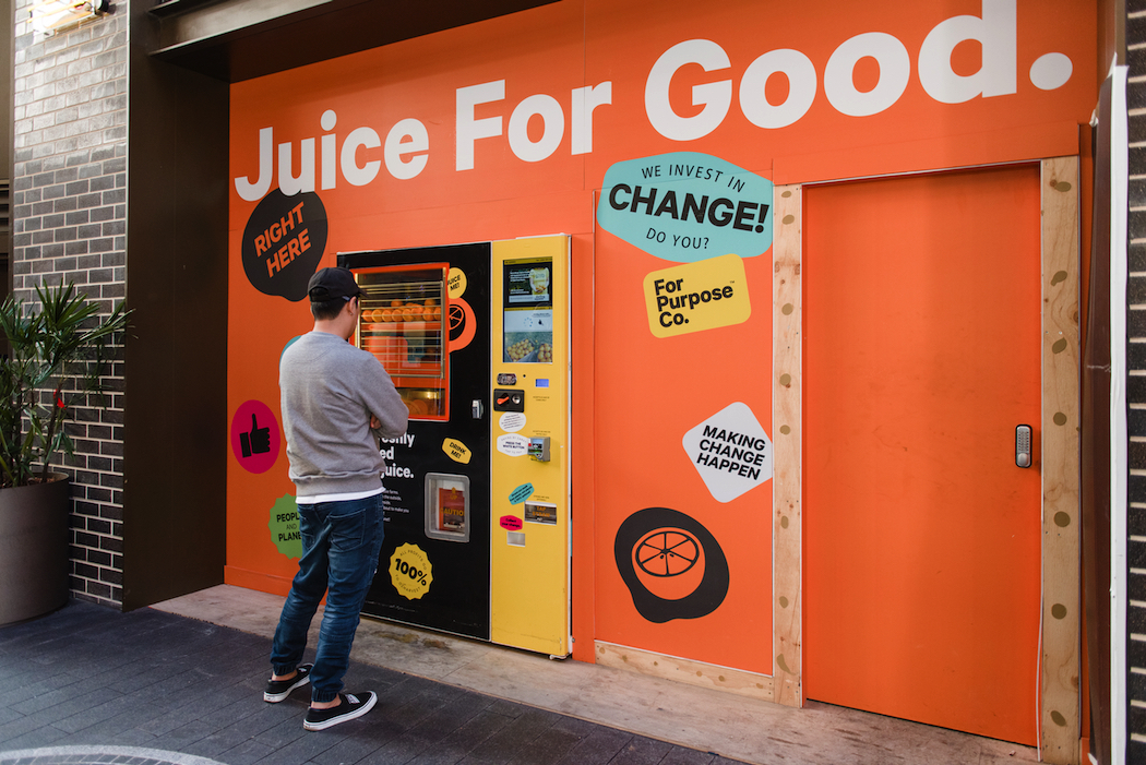 Juice For Good stops oranges from going to waste and raises money for OzHarvest.