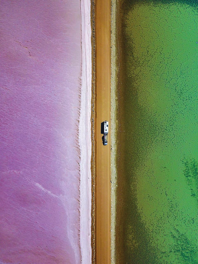 Lake MacDonnell, South Australia. Photo by The Blonde Nomads, Tracy and Rob Morris. best Australian road trips