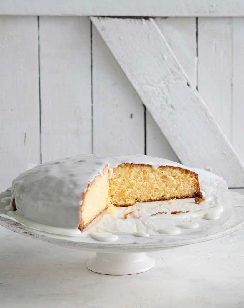 Recipe for Lemon Syrup Cake from Now For Something Sweet, by Monday Morning Cooking Club.