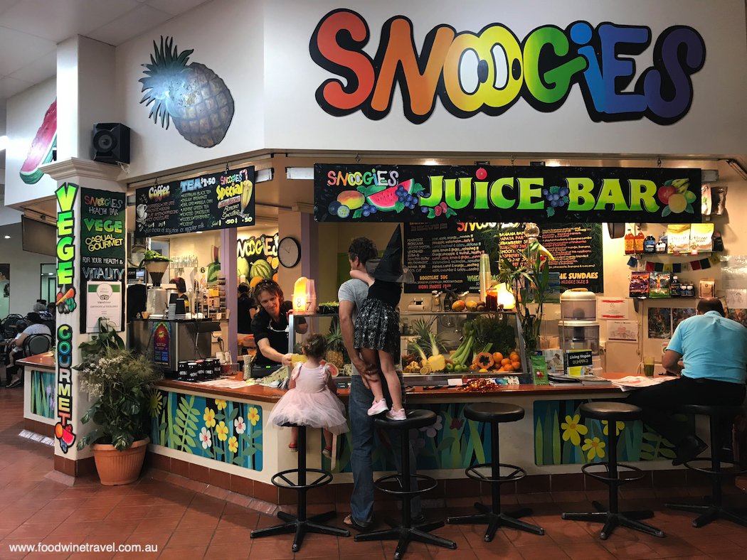 Cairns Hipster Walking Tour Snoogies juice bar