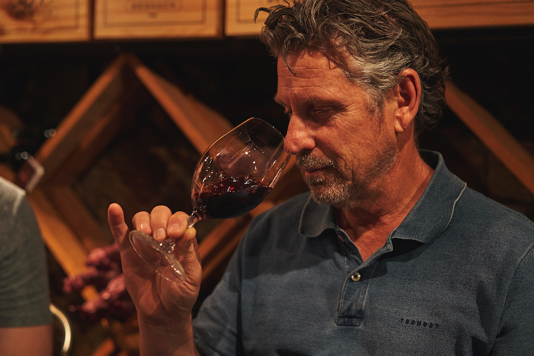Craig Stansborough, chief winemaker for Grant Burge Wines.