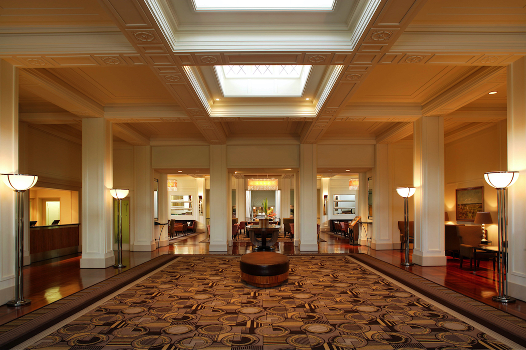 The Lobby leading into the classic and elegant Tea Lounge. Photo supplied by TravMedia.
