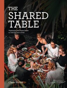 Recipe for Haloumi and Zucchini Fritters, from The Shared Table, by Clare Scrine.